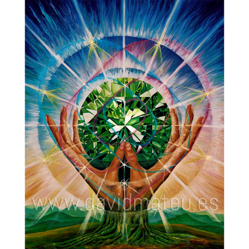 Corazon Cristal de Gaia